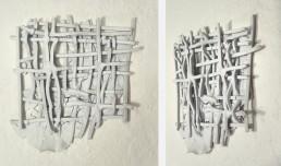 sculpture, grid v